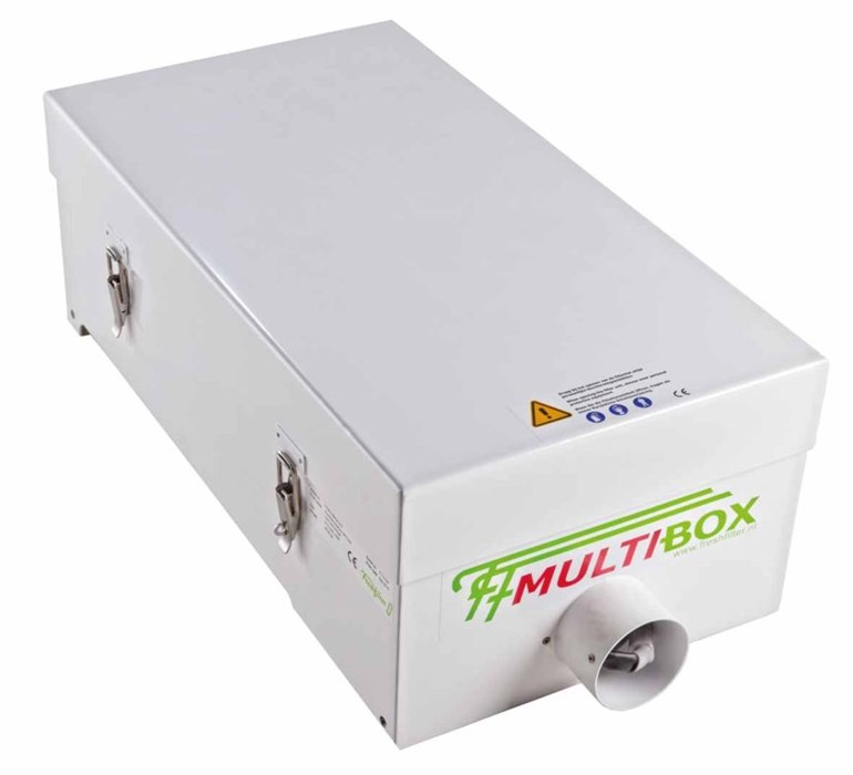 Multibox Overdrukkast 12/24V